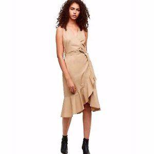 Aritzia Babaton Whitlaw Wrap Dress